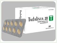Tadalista 20mg 20 strips